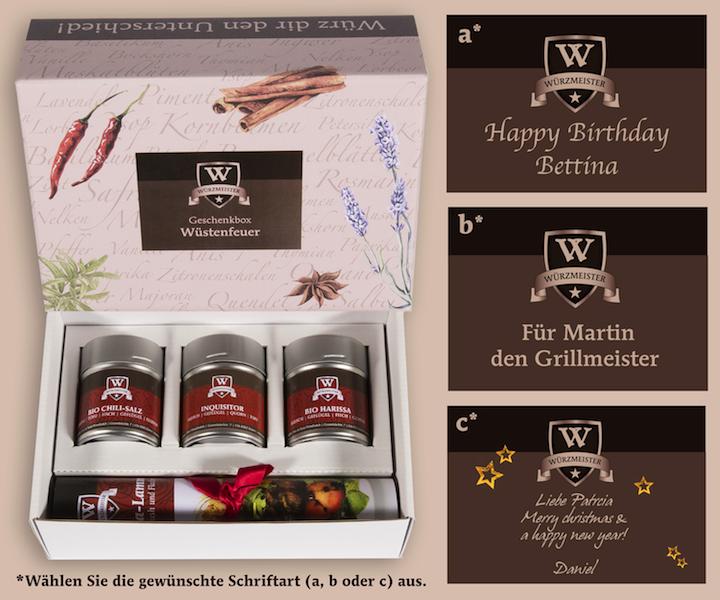 Personalisierte geschenke von w rzmeister - Personalisierte hochzeitsgeschenke ...