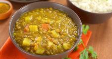 Kartoffel-Linsen Curry