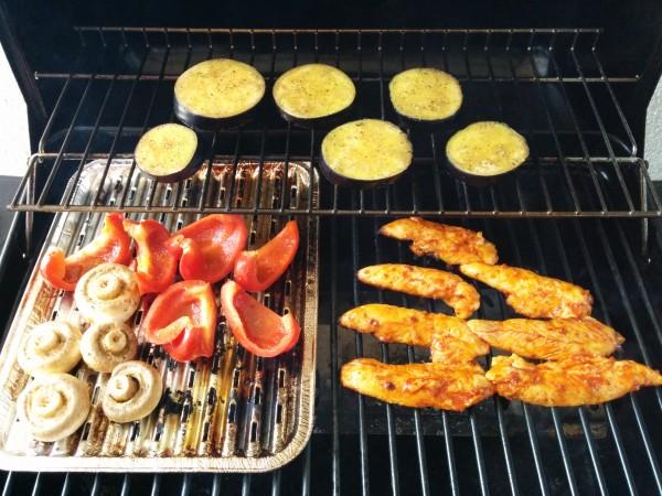 Bild zum Rezept Marinade für Grillgemüse. Gemüse auf dem Grill.
