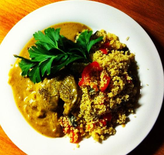 Bild zum Rezept Lammcurry mit Couscous.
