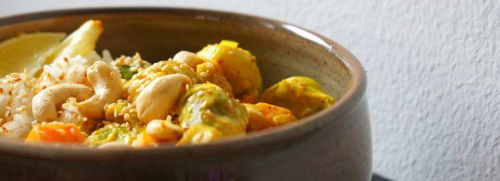 Basmatireis mit Gemüse-Curry von Manuela Flückiger