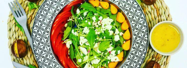 Herbstsalat mit Kürbis und Bio Salatkräutern von Würzmeister